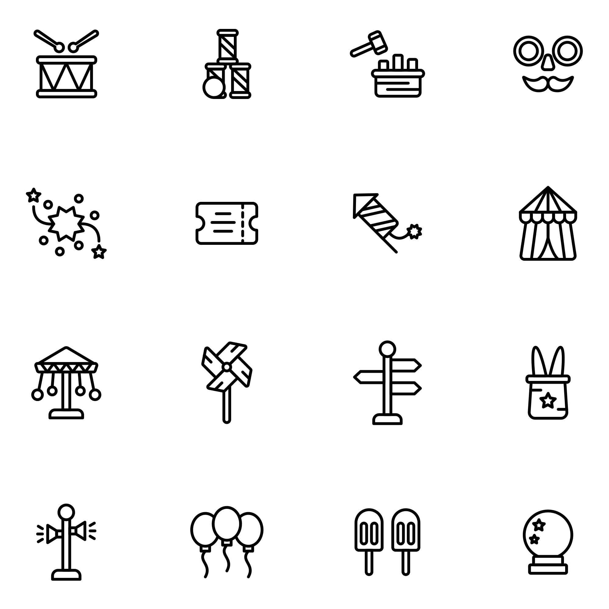 Fair Vector Icons Part 1