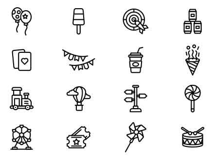 Fair Vector Icons Part 2