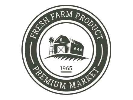 Farm Vector Badges
