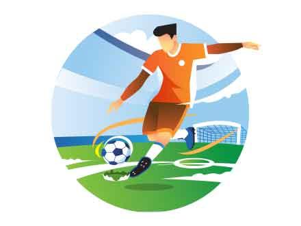 Football Vector Illustration