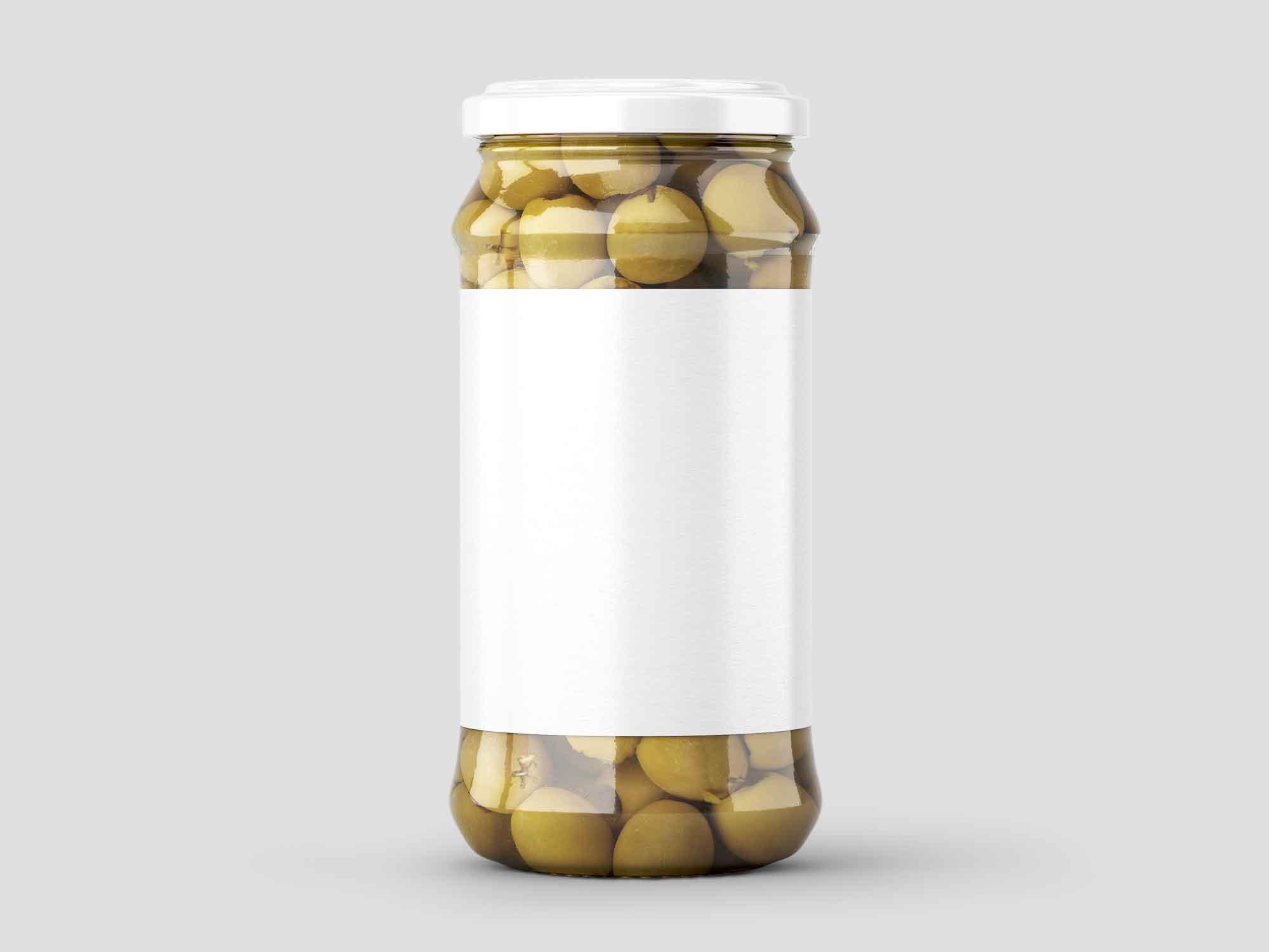 Olives Jar Mockup 02