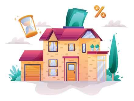 Real Estate Mortgage Illustration