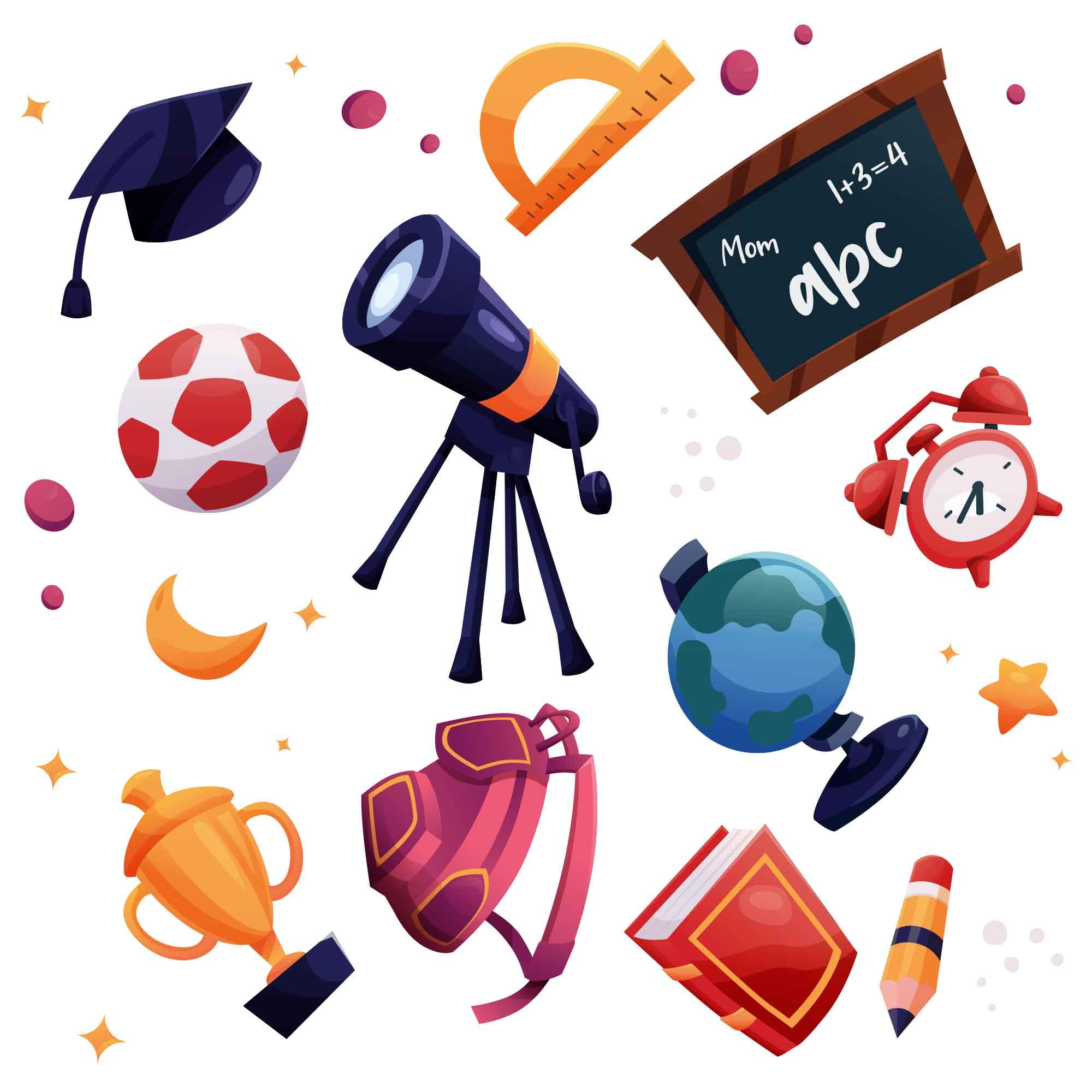 School Educational Illustrations