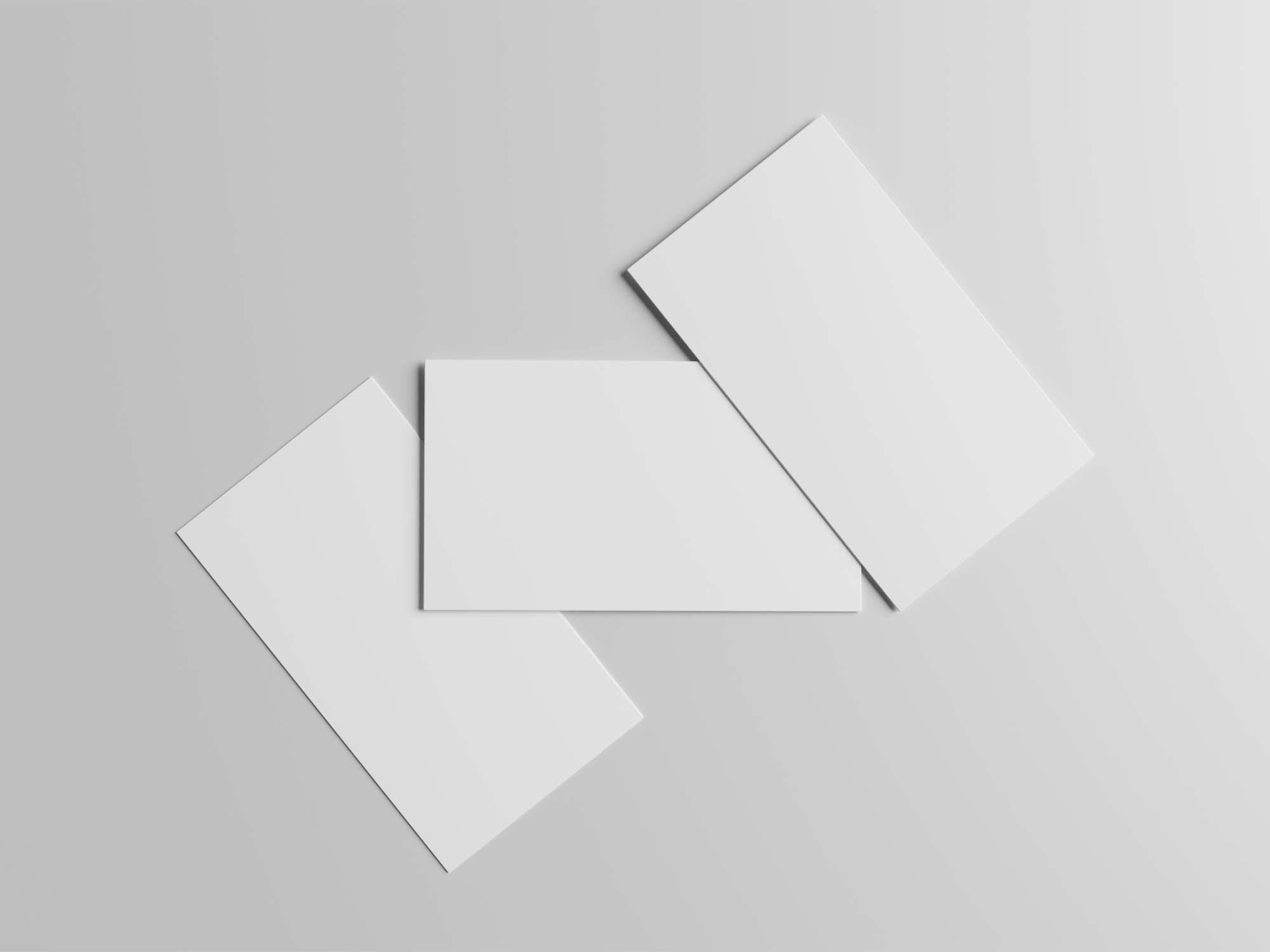 Three Business Card Mockups 2