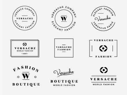 12 Elegant Logo Badges
