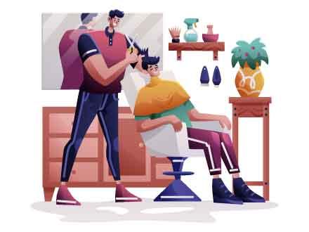 Barbershop Vector Illustration