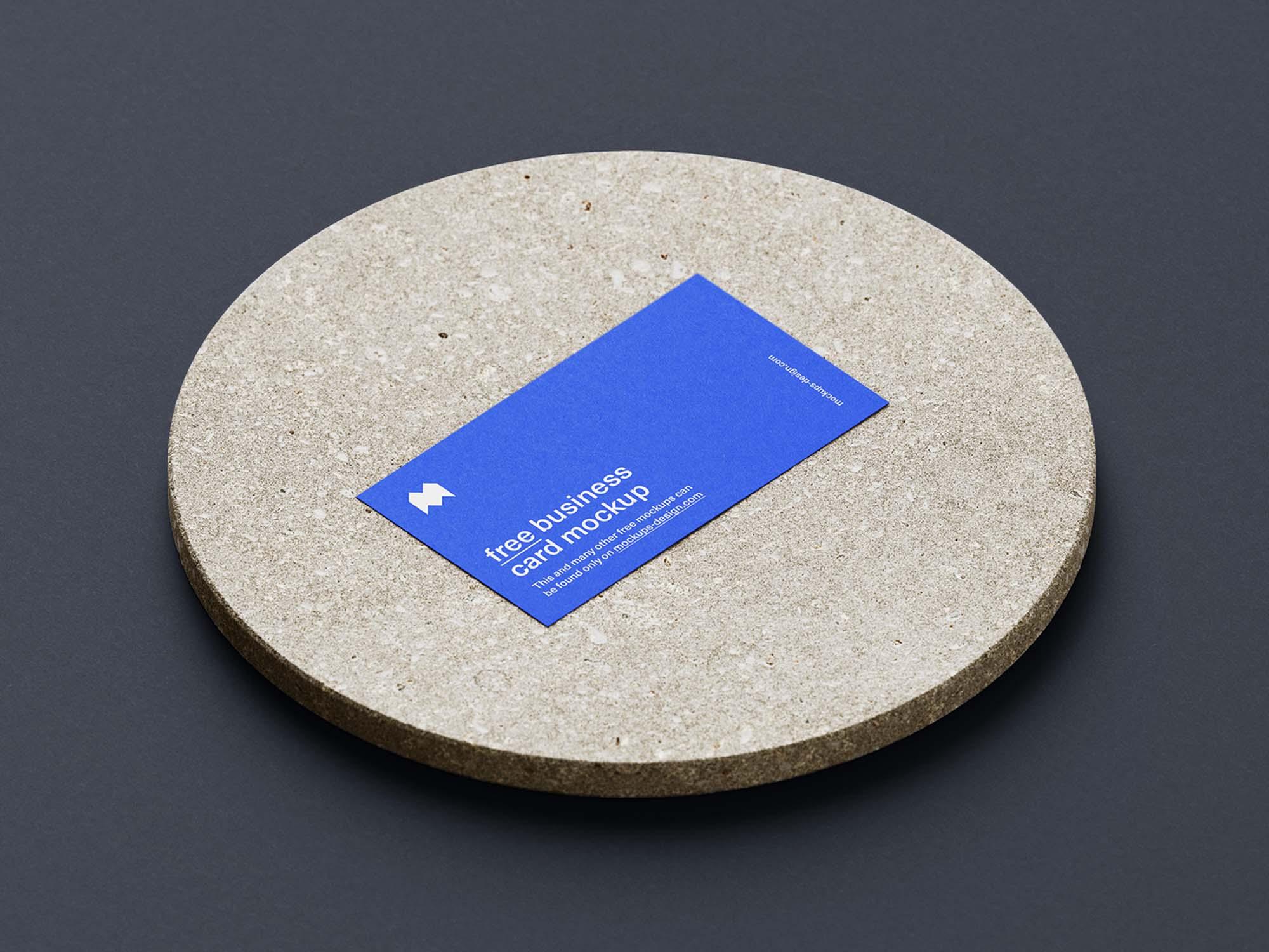 Business Card Mockup 1