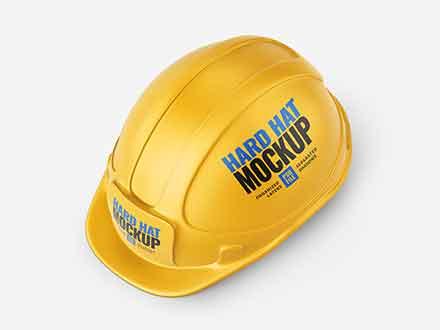 Construction Hard Hat Mockup