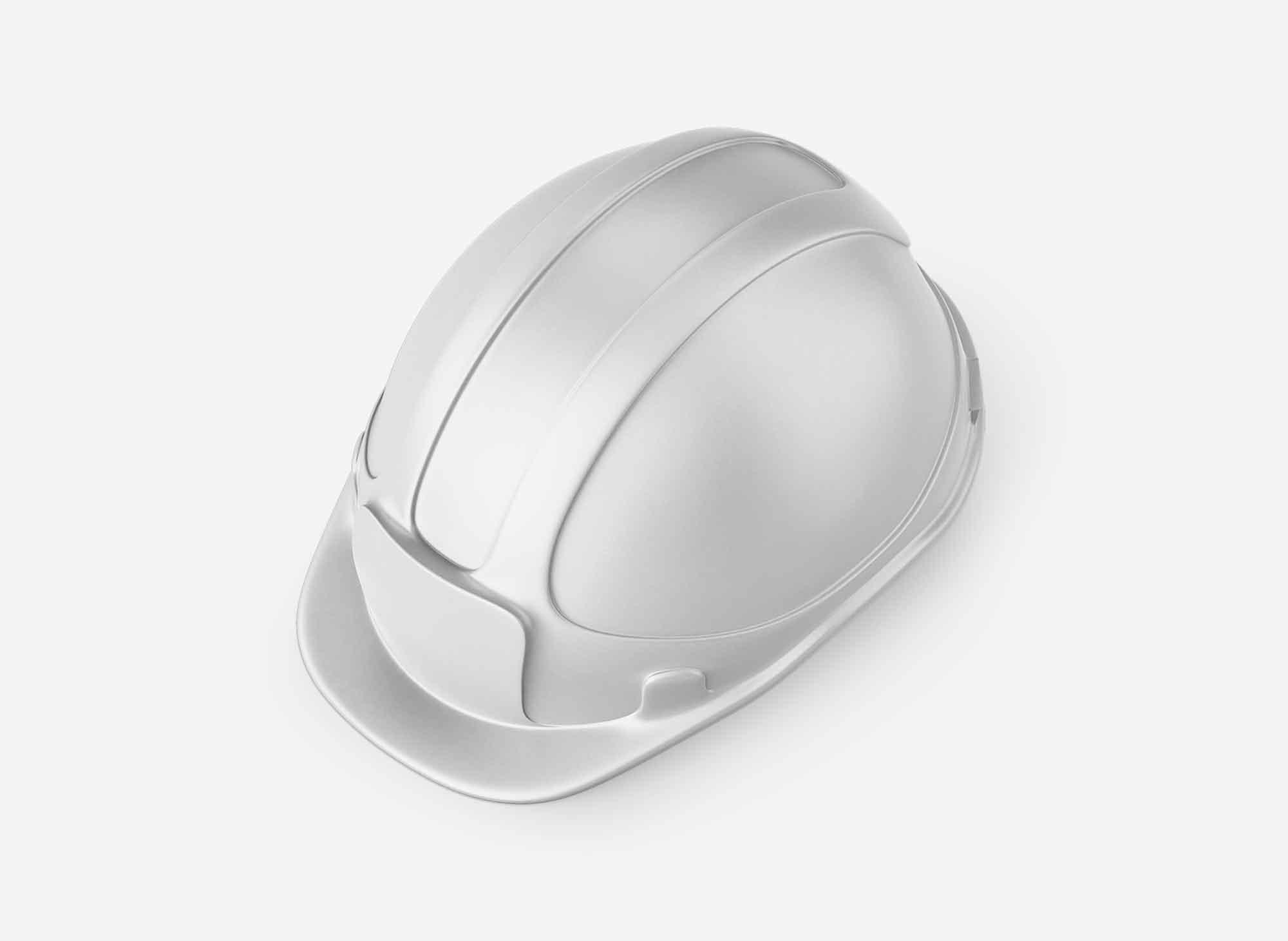 Construction Hard Hat Mockup 2