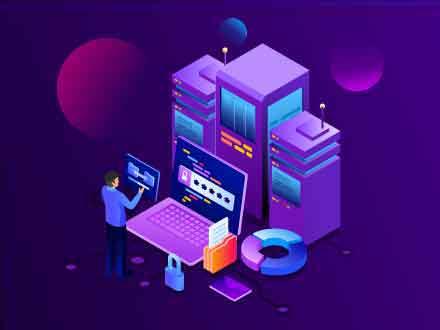 Data Storage Service Illustration