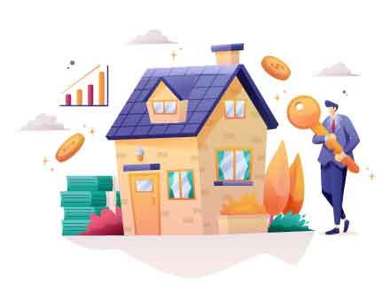 Real Estate Agent Illustration