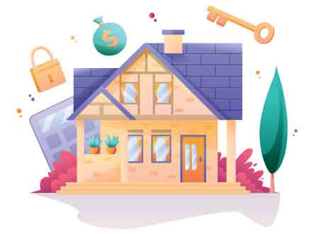 Real Estate Investment Illustration