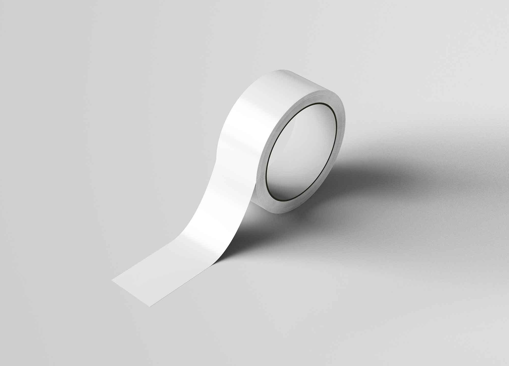 Realistic Duct Tape Mockup 2