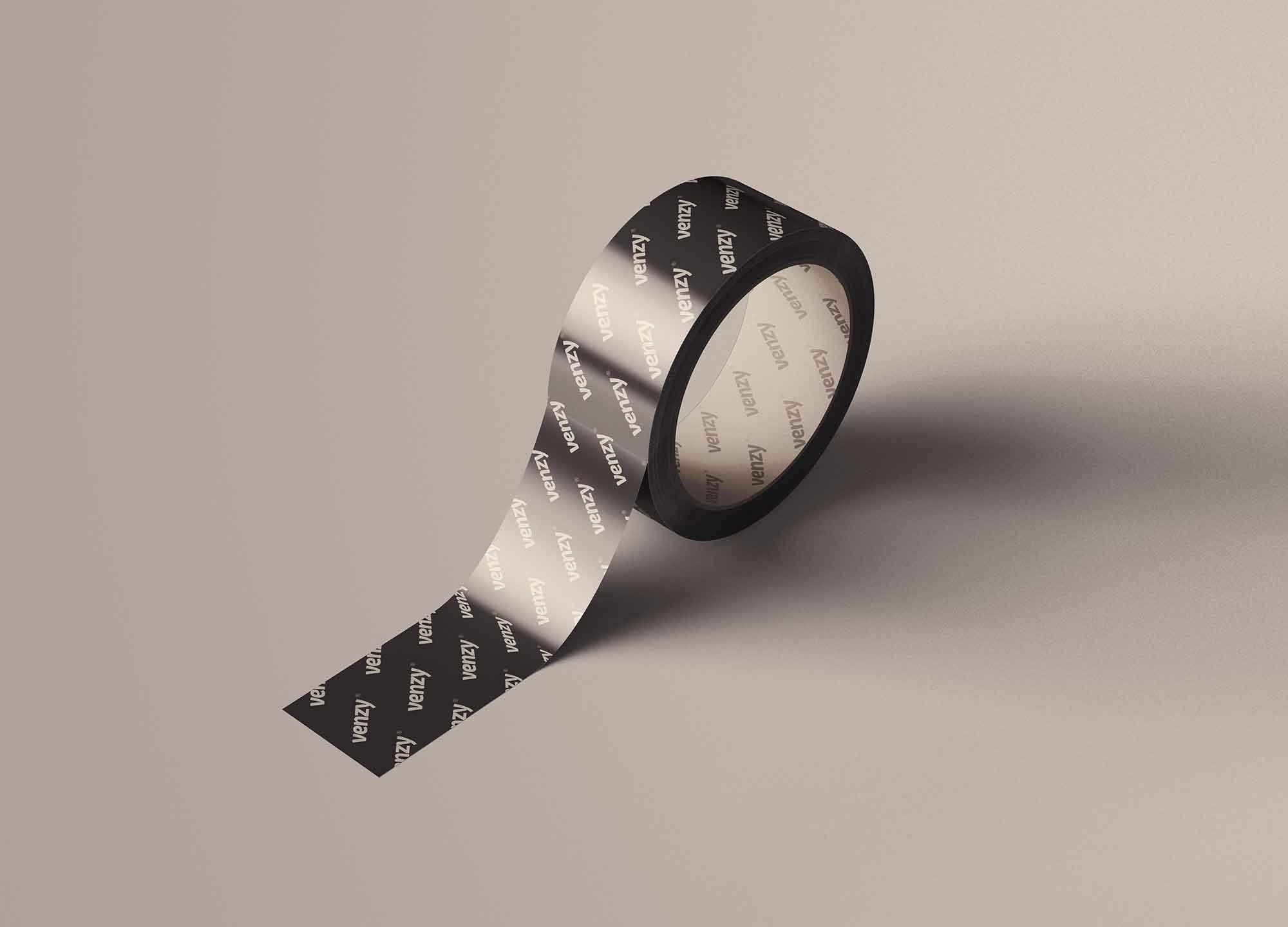 Realistic Duct Tape Mockup