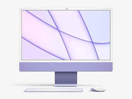 iMac 24-inch Mockup