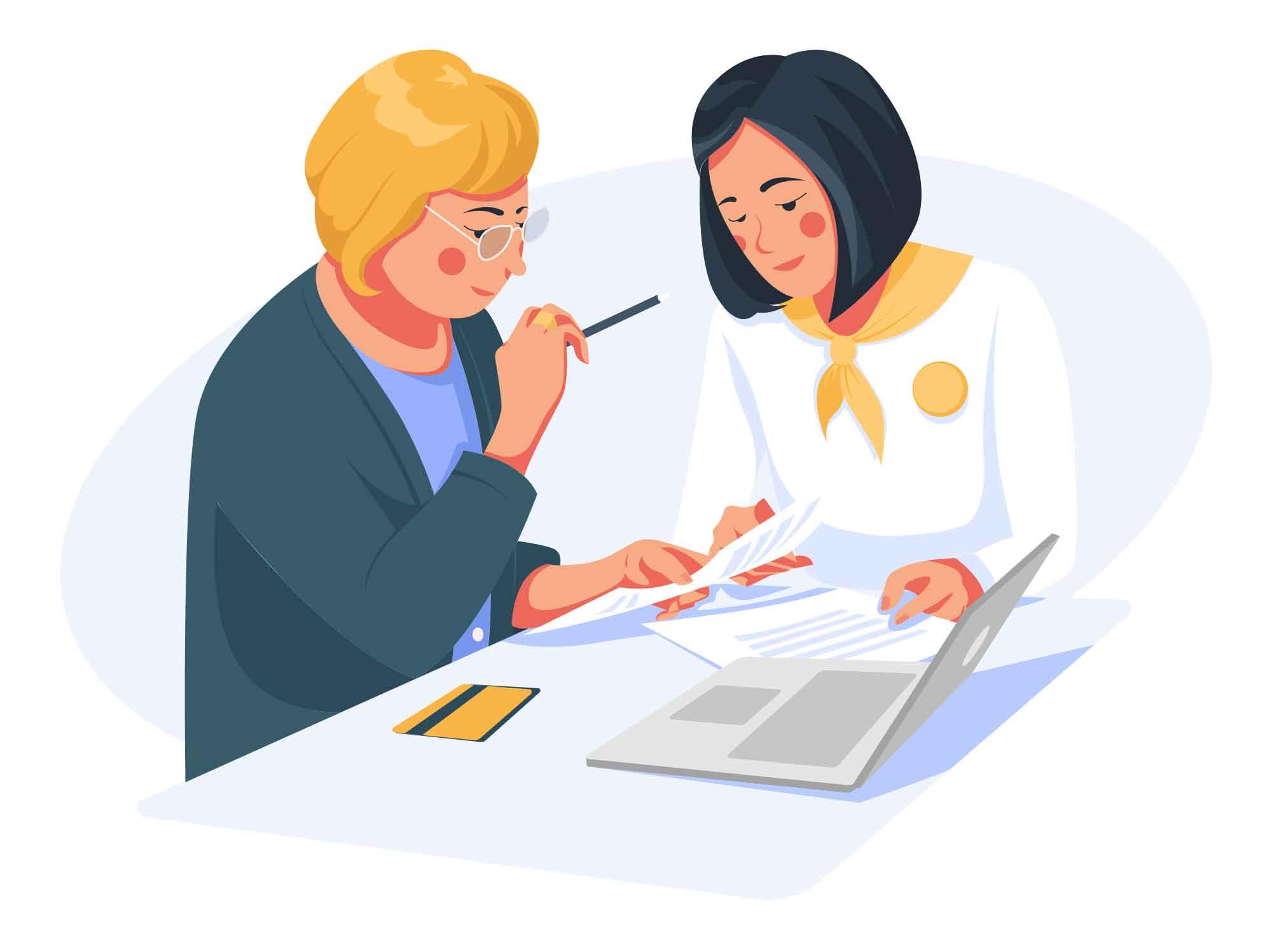 Bank Loan Illustration