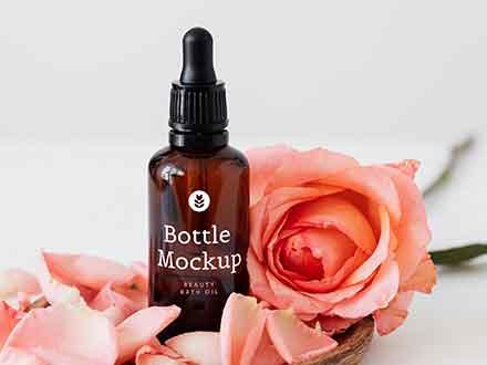 Beauty Bottle Mockup