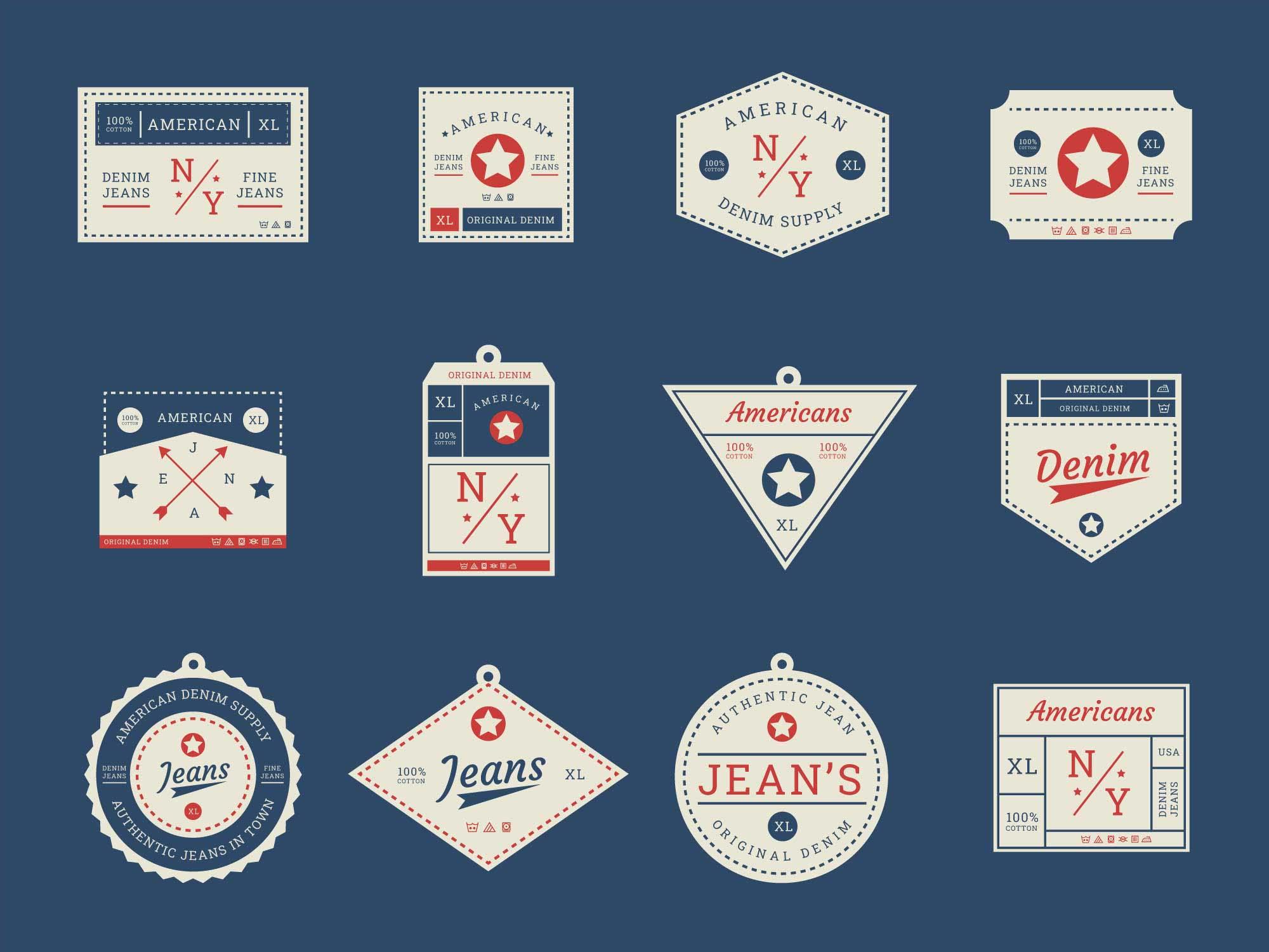 Clothing Label Badges 2