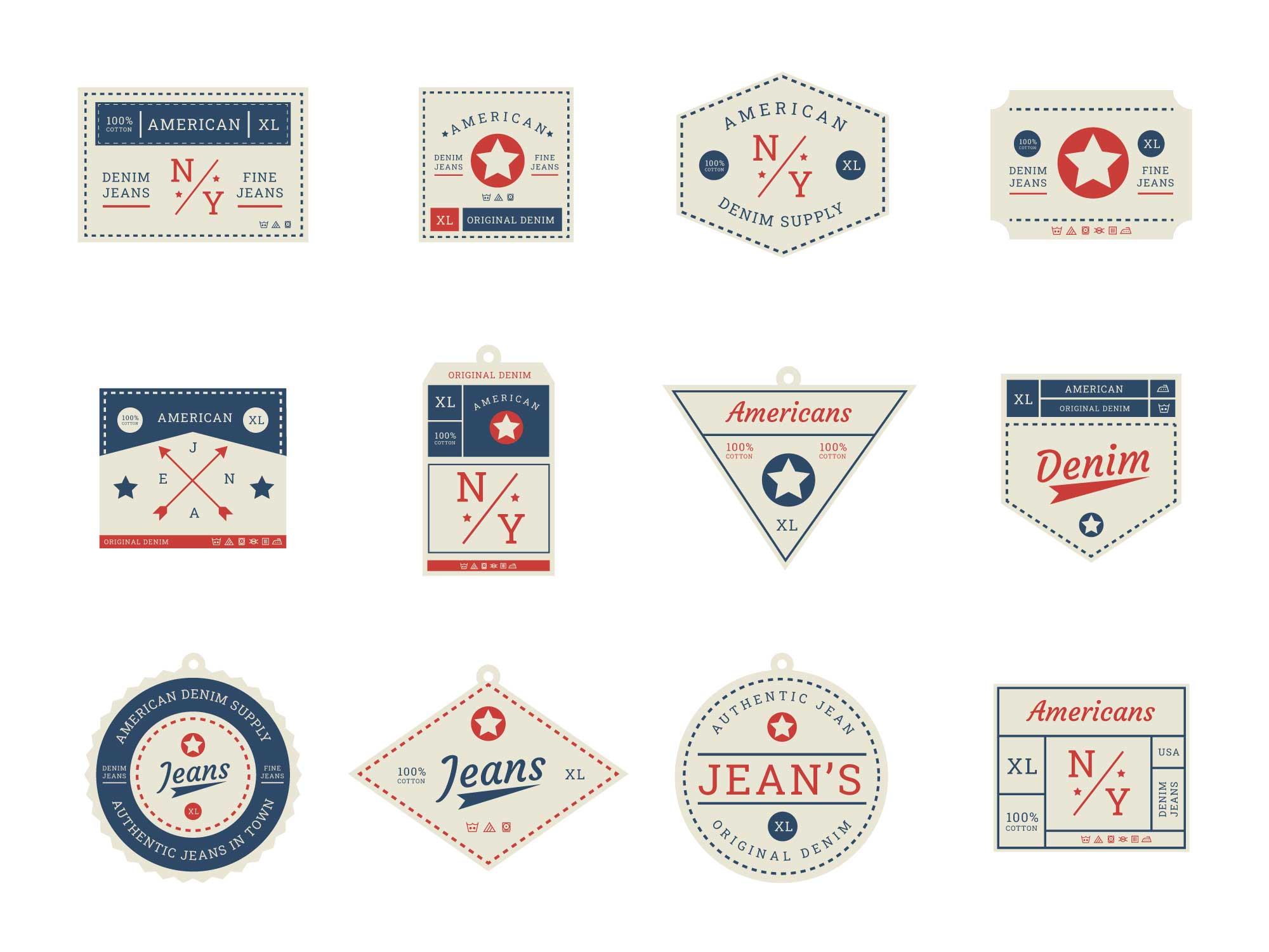 Clothing Label Badges
