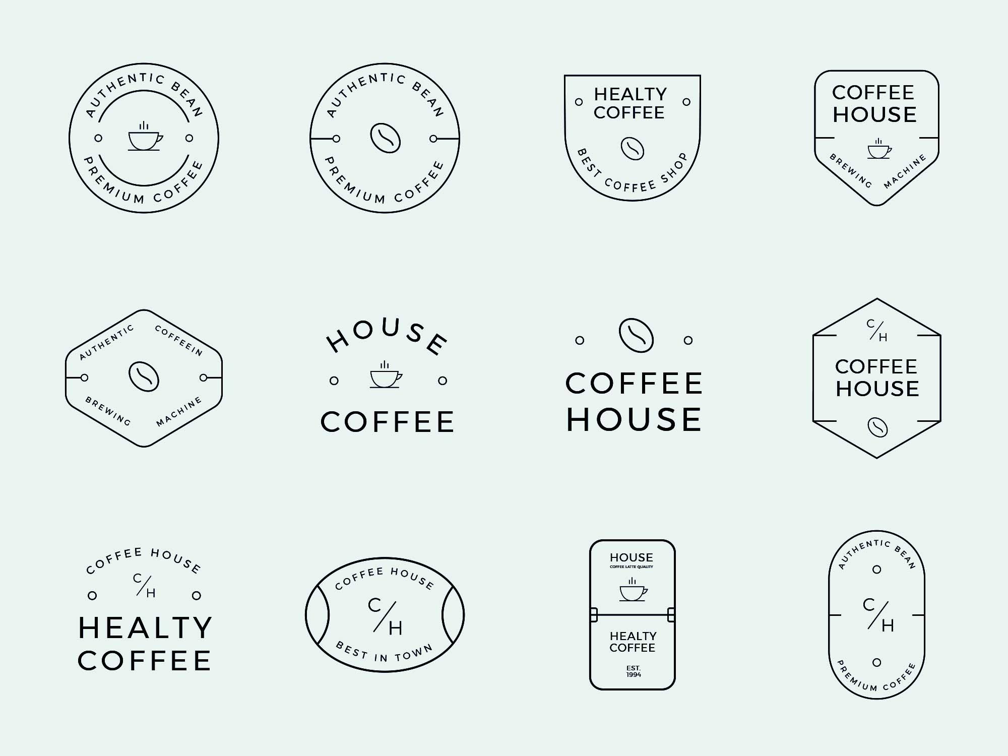 Coffee Label Designs 2