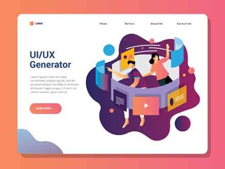Freelance UI UX Template