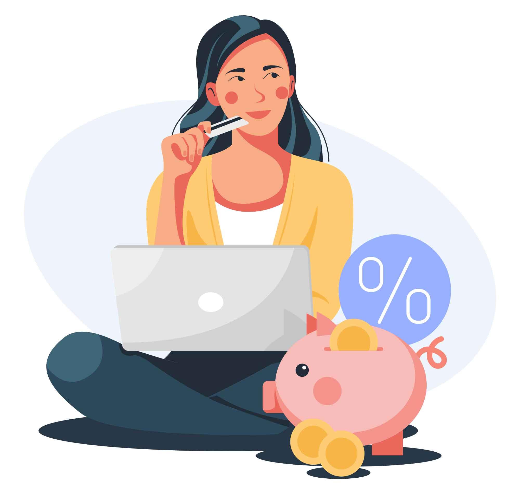 Interest Deposit Illustration