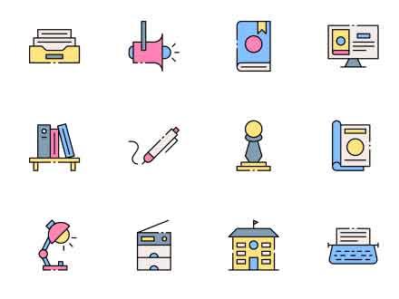 Librarian Vector Icon