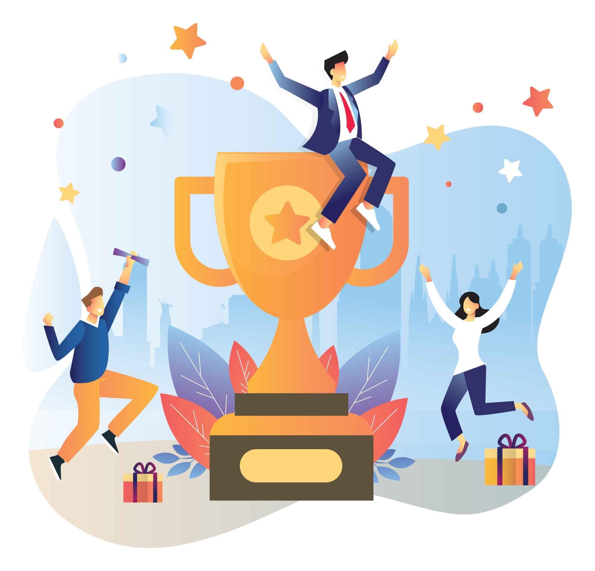 Team Success Illustration