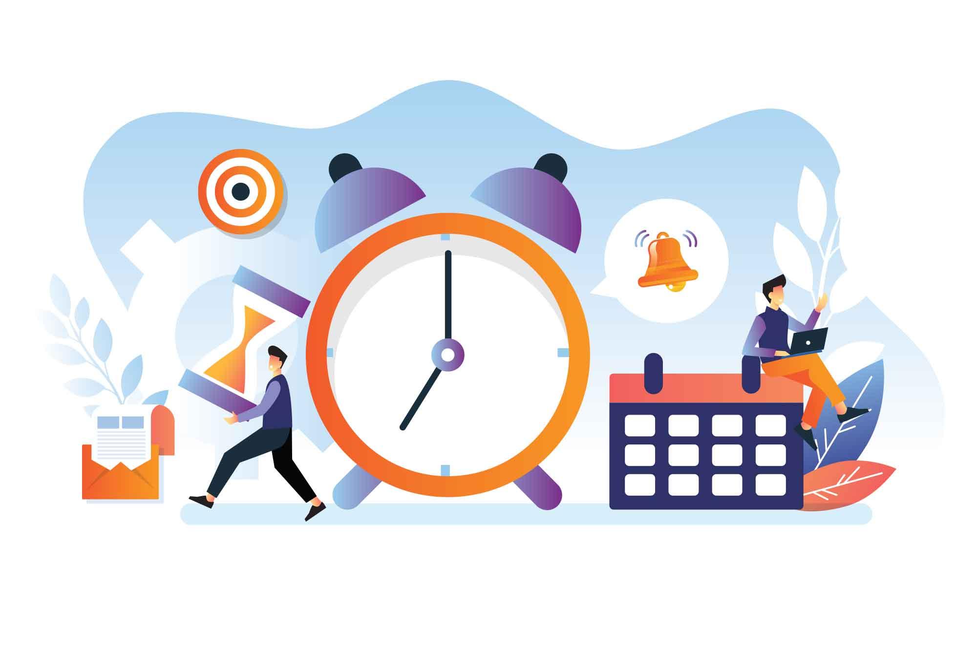 Time Management Illustration