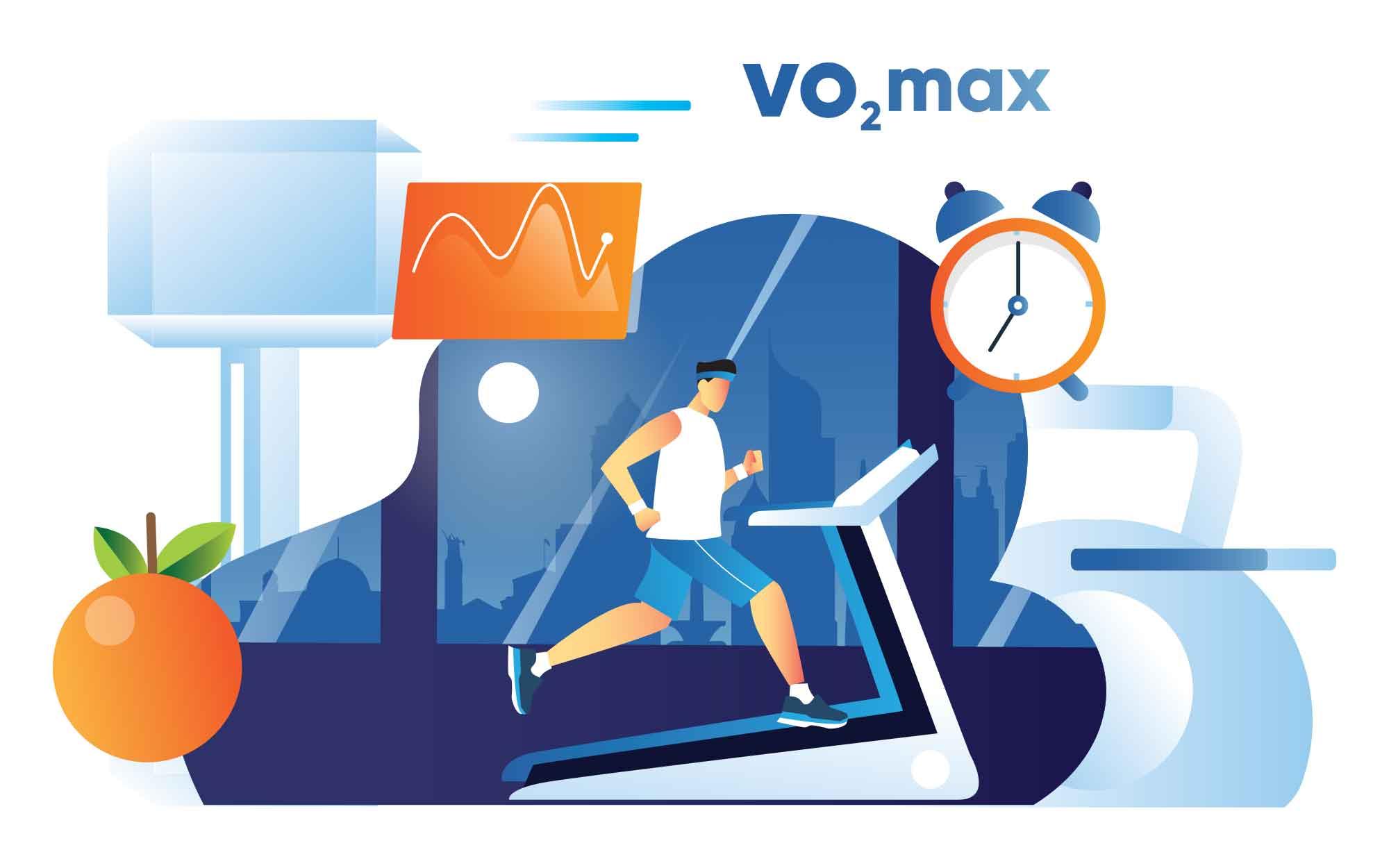 Treadmill Vector Illustration
