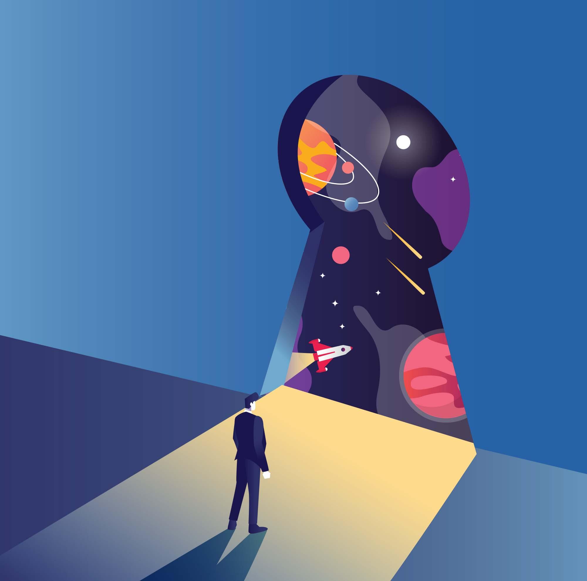 Universe Key Illustration